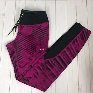 Nike Pink Black Workout Leggings